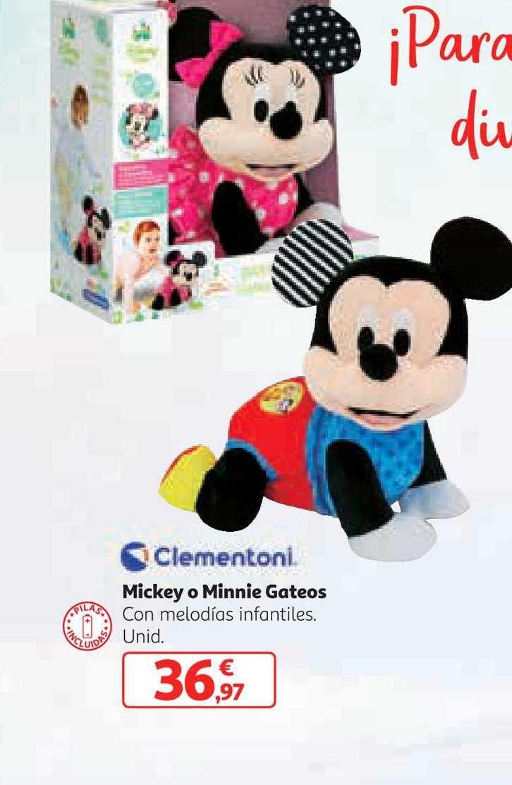 Alcampo Mickey O Minnie Gateos Clementoni