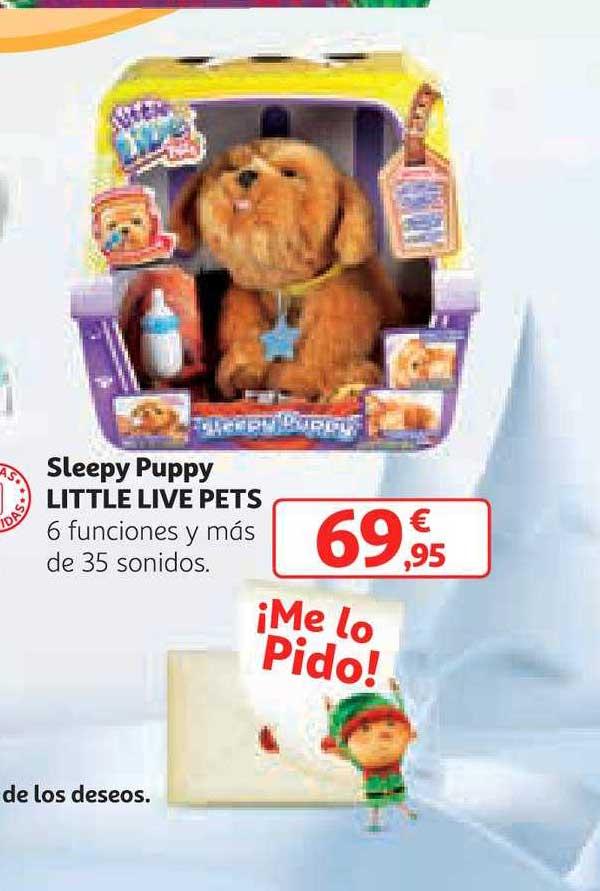 Alcampo Sleepy Puppy Little Live Pets