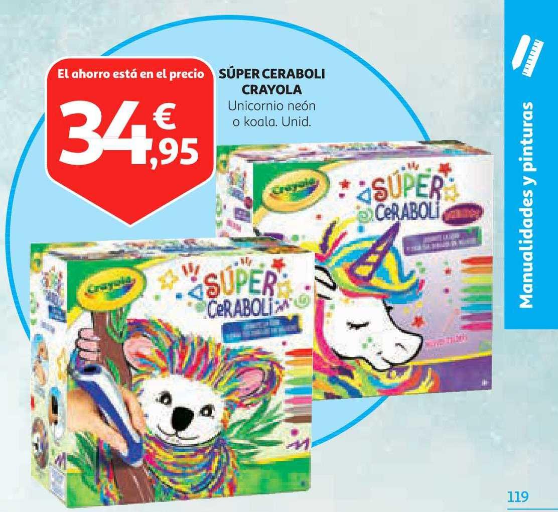 Alcampo Súper Ceraboli Crayola