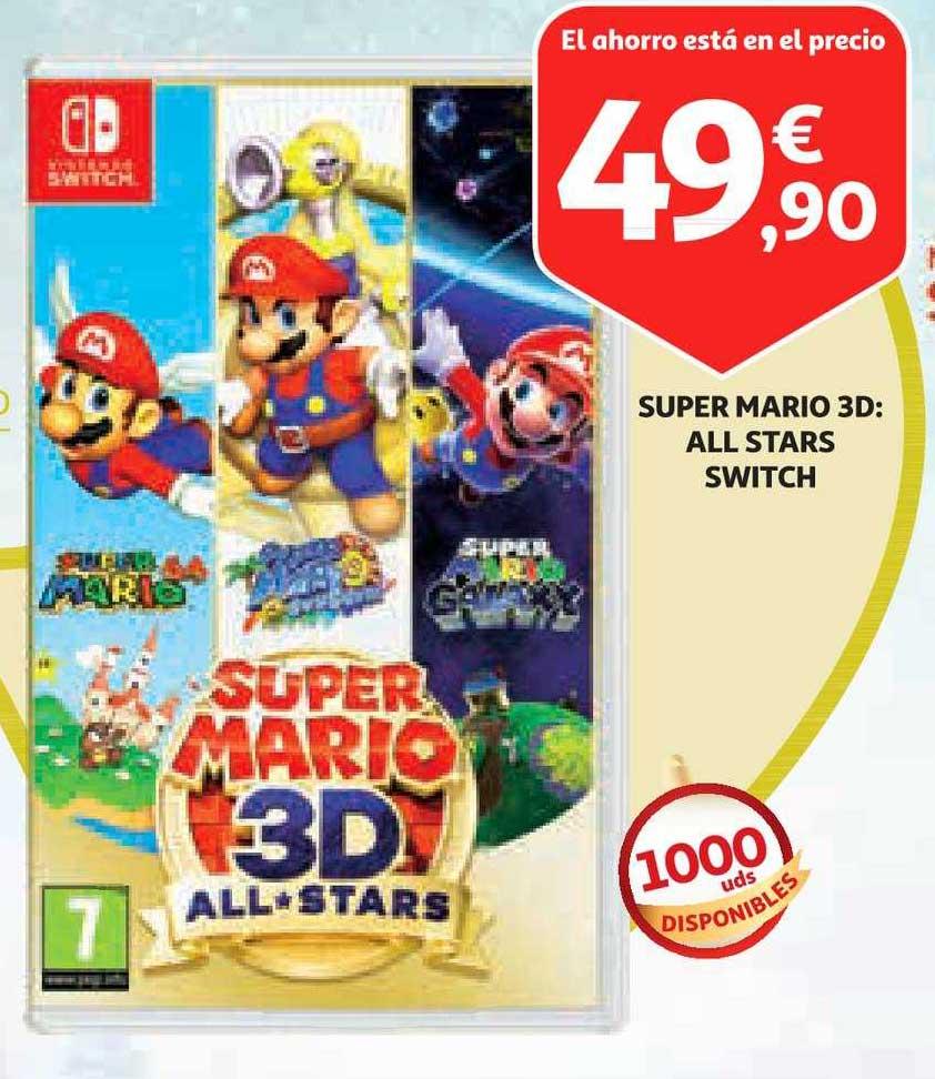 Alcampo Super Mario 3d All Stars Switch