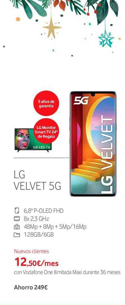 Vodafone Lg Velvet 5g