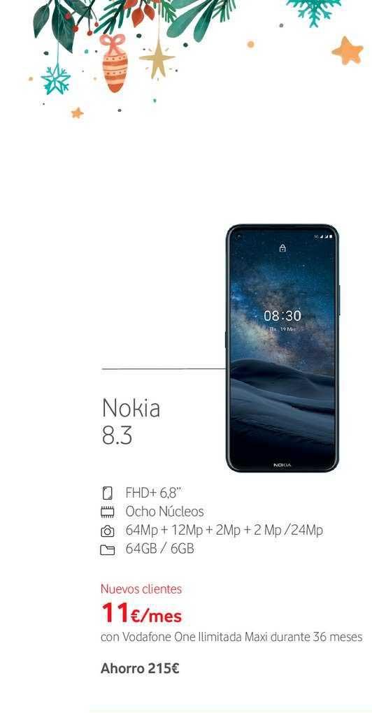 Vodafone Nokia 8.3