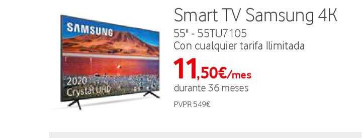 Vodafone Smart TV Samsung 4K