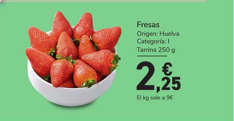 Carrefour Express Fresas