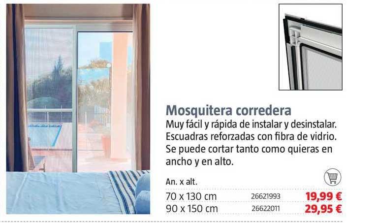 BAUHAUS Mosquitera Corredera