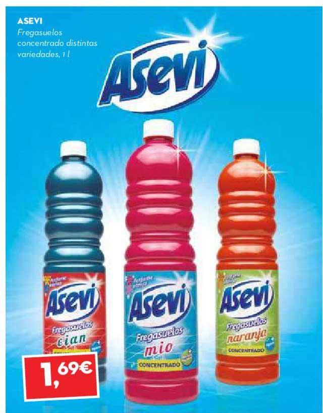 SuperSol Asevi Fregasuelos Concentrado Distintas Variedades, 1l