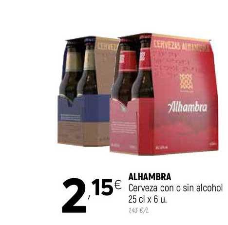 Coviran Alhambra Cerveza Con O Sin Alcohol