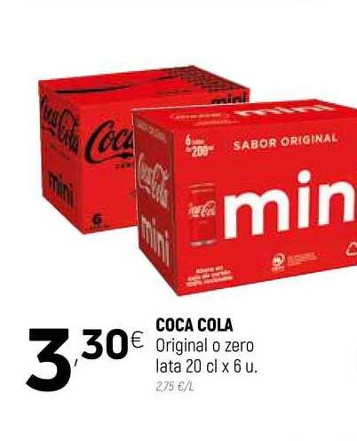 Coviran Coca Cola Original O Zero