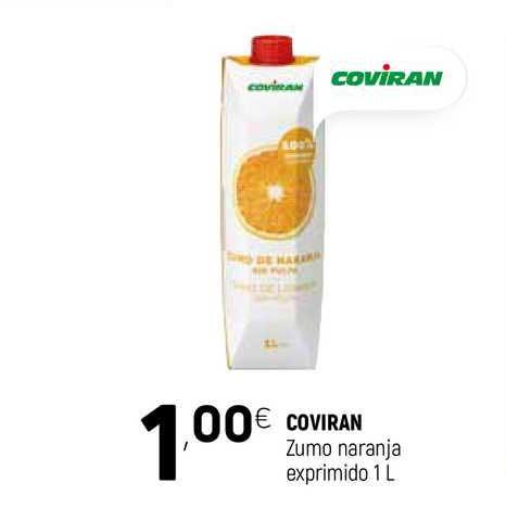 Coviran Coviran Zumo Naranja Exprimido