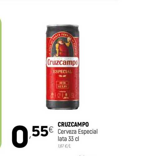 Coviran Cruzcampo Cerveza Especial