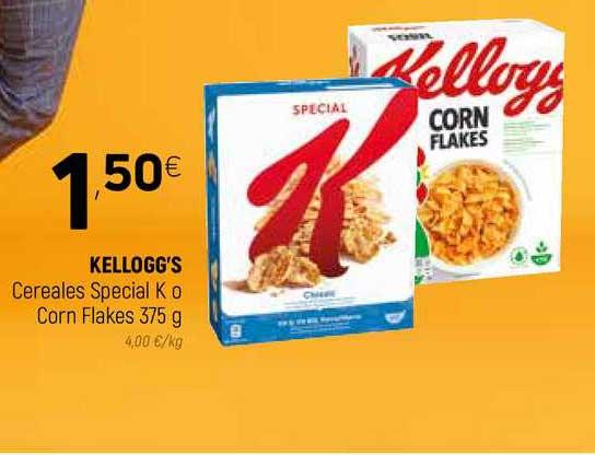 Coviran Kellogg's Cereales Special K O Corn Flakes