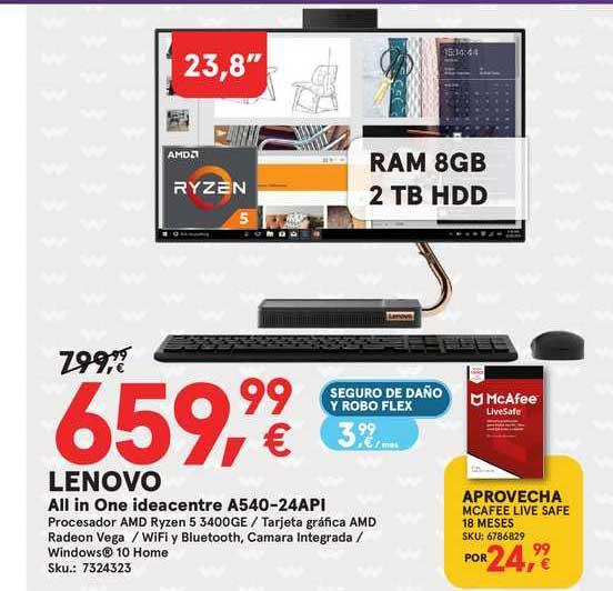 Worten Lenovo All In One Ideacentra A540-24api