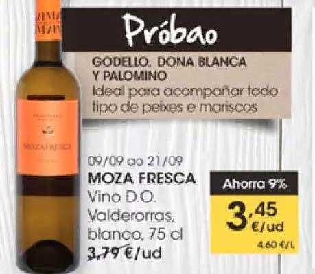 EROSKI Moza Fresca Vino D.o. Valdeorras Blanco
