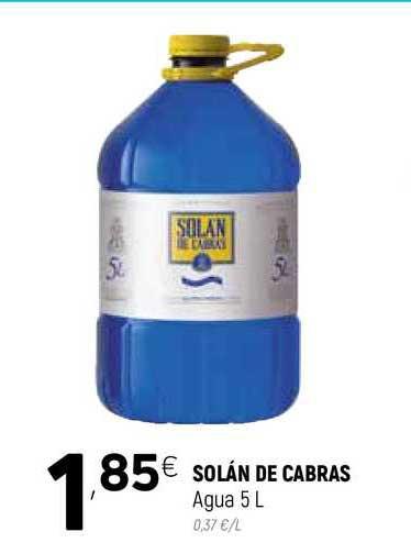 Coviran Solán De Cabras Agua