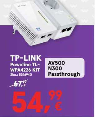Worten Tp-link Poweline Tl-wpa4226 Kit