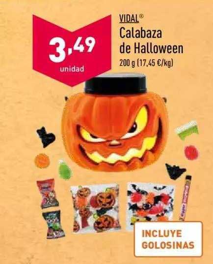 ALDI Vidal Calabaza De Halloween