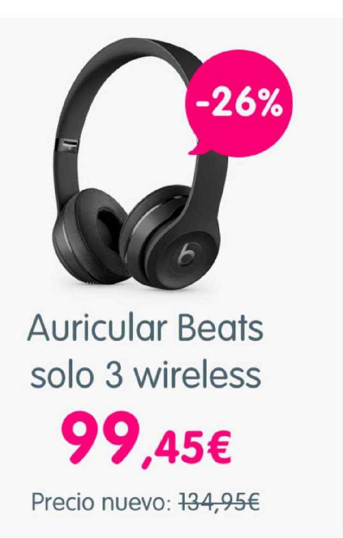 Cash Converters -26% Auricular Beats Solo 3 Wireless