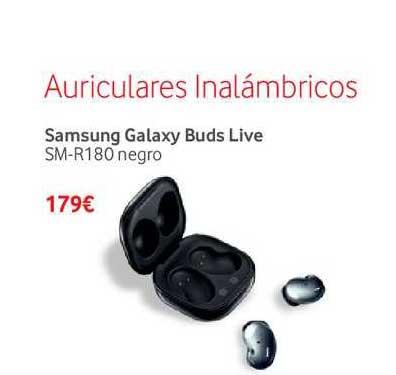 Vodafone Auriculares Inalámbricos Samsung Galaxy Buds Live