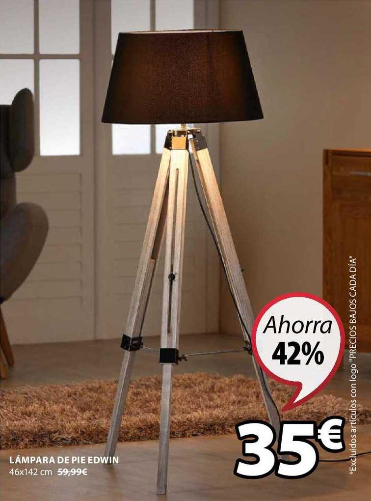 JYSK Ahorra 42% Lámpara De Pie Edwin