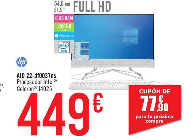 Carrefour Hp Aio 22 Df0037ns