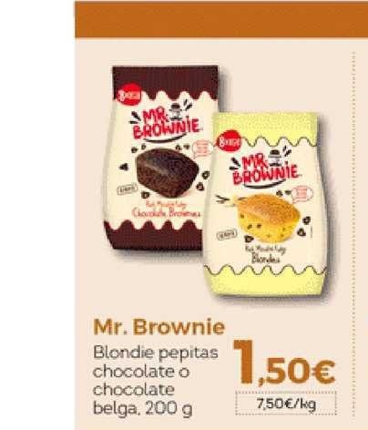 Hiber Mr. Brownie Blondie Pepitas Chocolate O Chocolate Belga