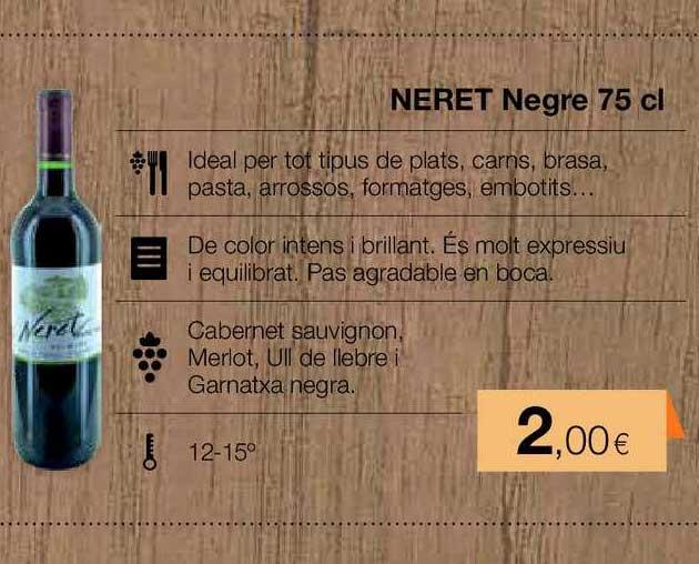 Plusfresc Neret Negre 75 Cl
