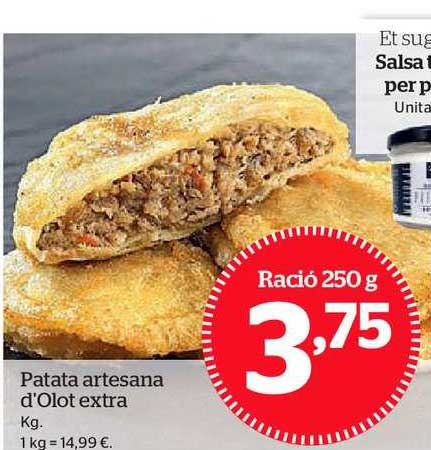 La Sirena Patata Artesana D'olot Extra