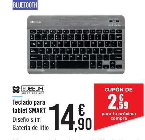 Carrefour Teclado Para Tablet Smart Subblim