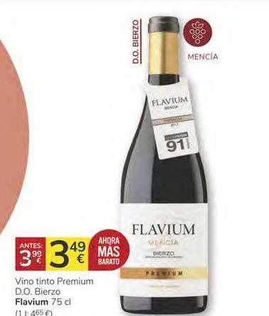 Consum Vino Tinto Premium D.o. Bierzo Flavium