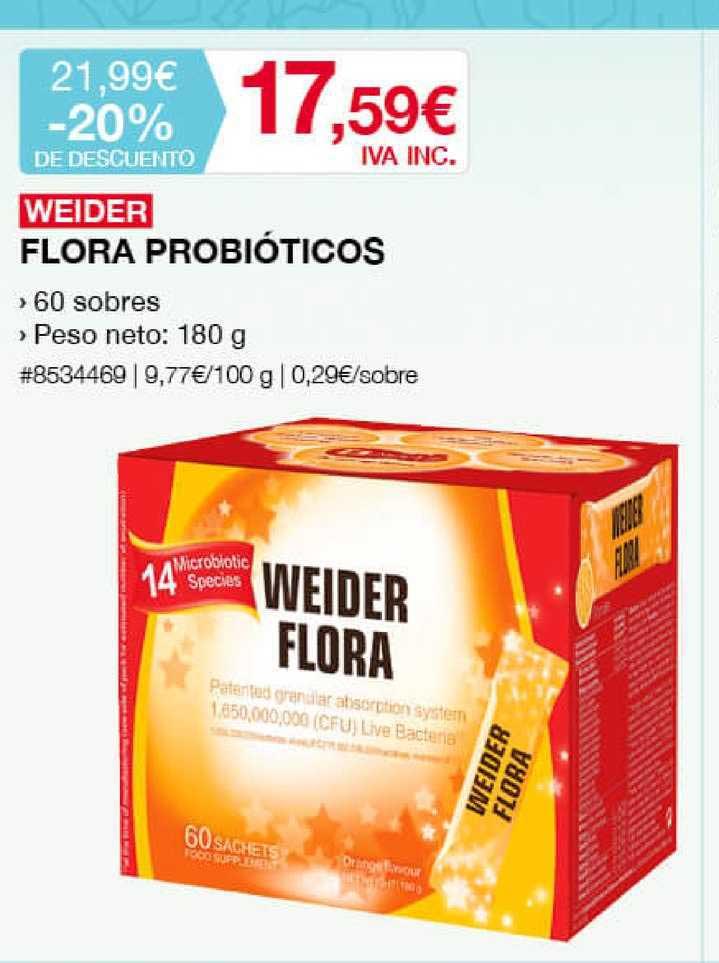Costco Weider Flora Probióticos