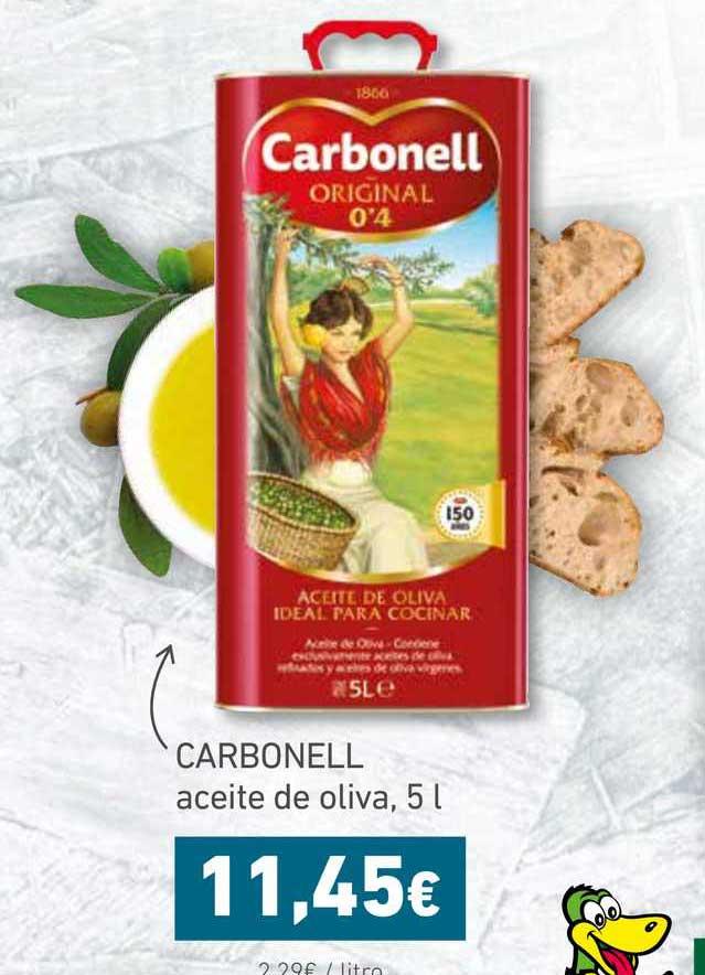 HiperDino CARBONELL Aceite De Oliva, 5 L