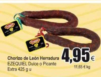 Froiz Chorizo De León Herradura Ezequiel Dulce O Picante Extra 425 G U