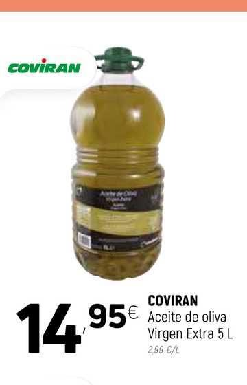 Coviran COVIRAN Aceite De Oliva Virgen Extra 5 L