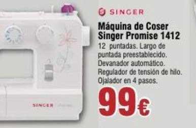 Froiz Máquina De Coser Singer Promise 1412