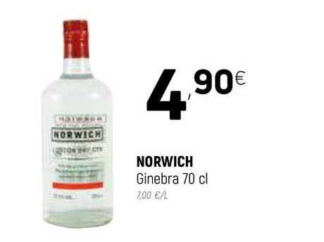 Coviran Norwich Ginebra 70 Cl