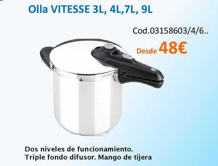 Master Cadena Olla Vitesse 3L,4L,7L,9L