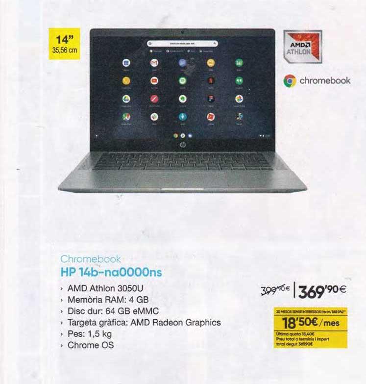 Fnac Chromebook Hp 14b-na0000ns
