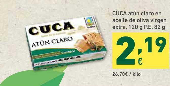 HiperDino Cuca Atún Claro En Aceite De Oliva Virgen Extra