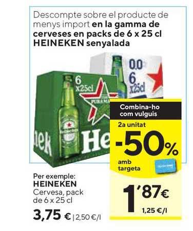 Caprabo Heineken Cerveza