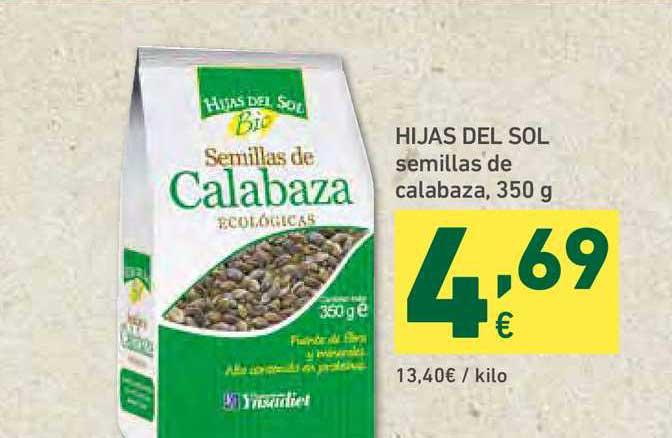 HiperDino Hijas Del Sol Semillas De Calabaza