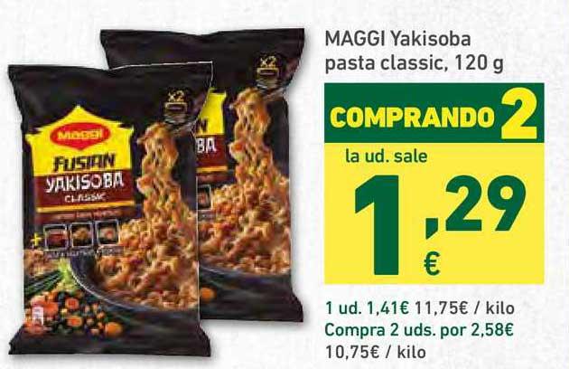 HiperDino Maggi Yakisoba Pasta Classic