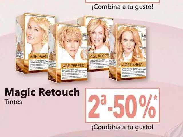 Clarel Magic Retouch Tintes