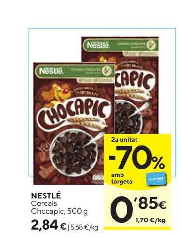 Caprabo Nestlé Cereals Chocapic