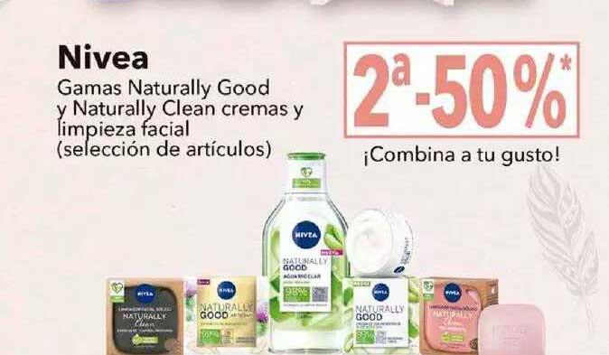Clarel Nivea Gamas Naturally Good Y Naturally Clean Cremas Y Limpieza Facial