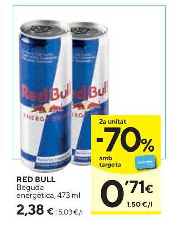 Caprabo Red Bull Beguda Energètica