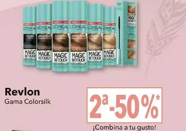 Clarel Revlon Gama Colorsilk