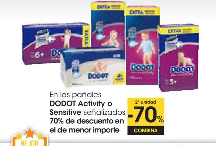 EROSKI 2ª Unidad -70% Combina En Los Pañales Dodot Activity O Sensitive Señalizados 70% De Descuento En El De Menor Importe