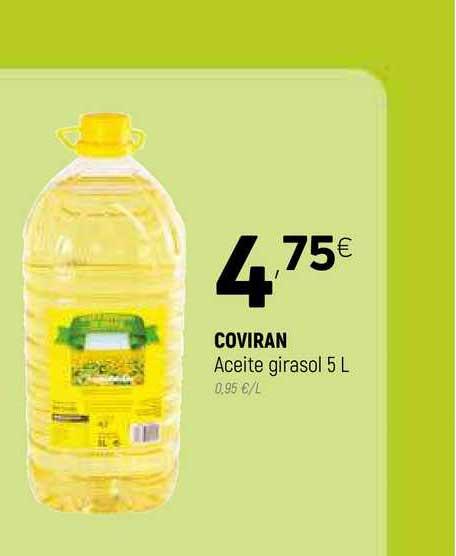 Coviran Coviran Aceite Girasol 5 L