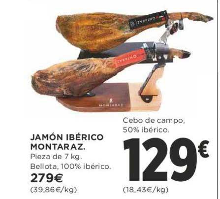 Supercor Jamón Ibérico Montaraz