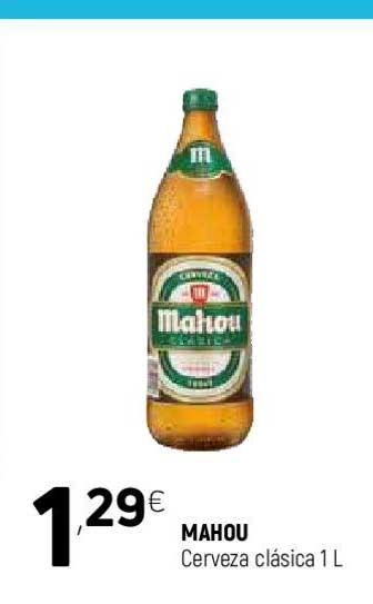 Coviran Mahou Cerveza Clásica 1 L